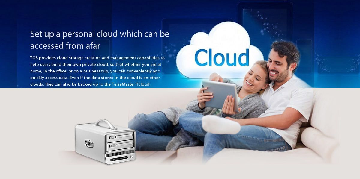 Set up a personal cloud which can be accessed from afar