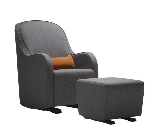 Shop For Dutailier 183 Series Upholstered Chair, And Other Living Room  Chairs At Clauser Furniture In Berne, IN. Glider With Gentle Curves And  Modern ...