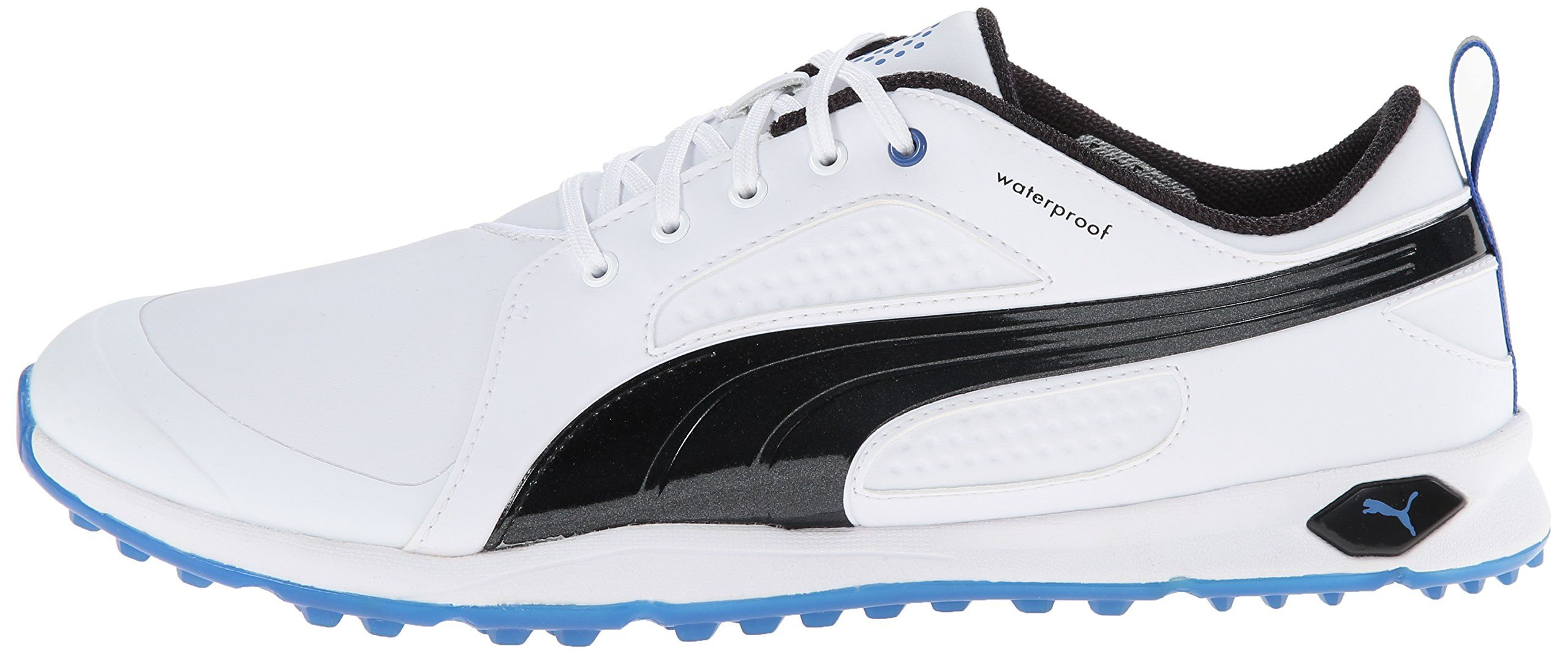 93701379be8a25 Golf Shoes     PUMA Mens Biofly Golf Shoe White Black Strong Blue 10 M US      A lot more info can be found at the picture url. (This is an affiliate  link).
