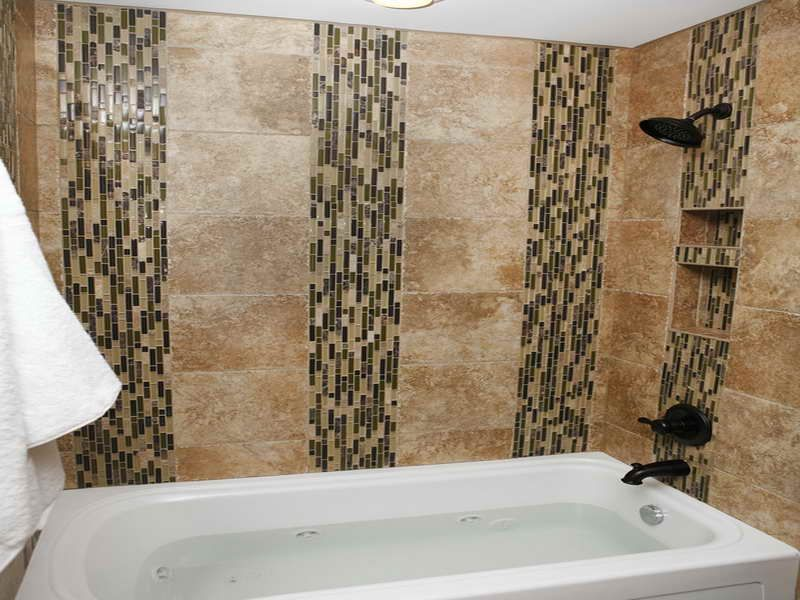 Tiles Decoration Pattern Bathroom Tile Design Patterns With Semi Mozaic ~ Httplanewstalk