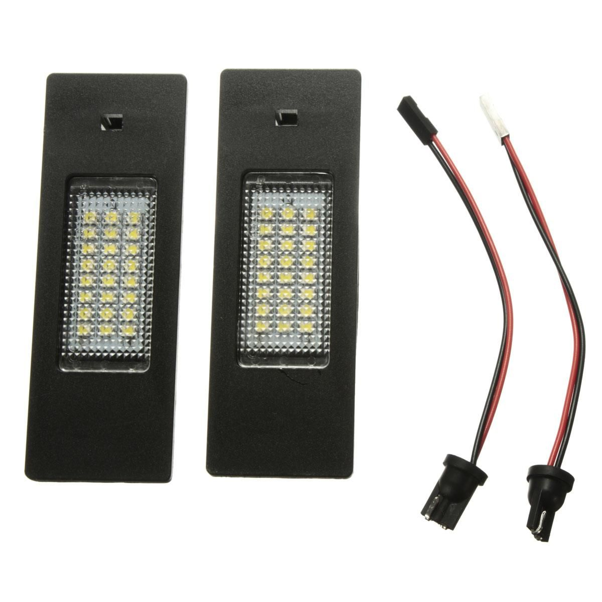 2pcs Led 24 Smd License Plate Light Number Lamp For Bmw E63 Wiring E81 E87 F06 F12 F20 Z4 Bulbs Car Styling Source 2099