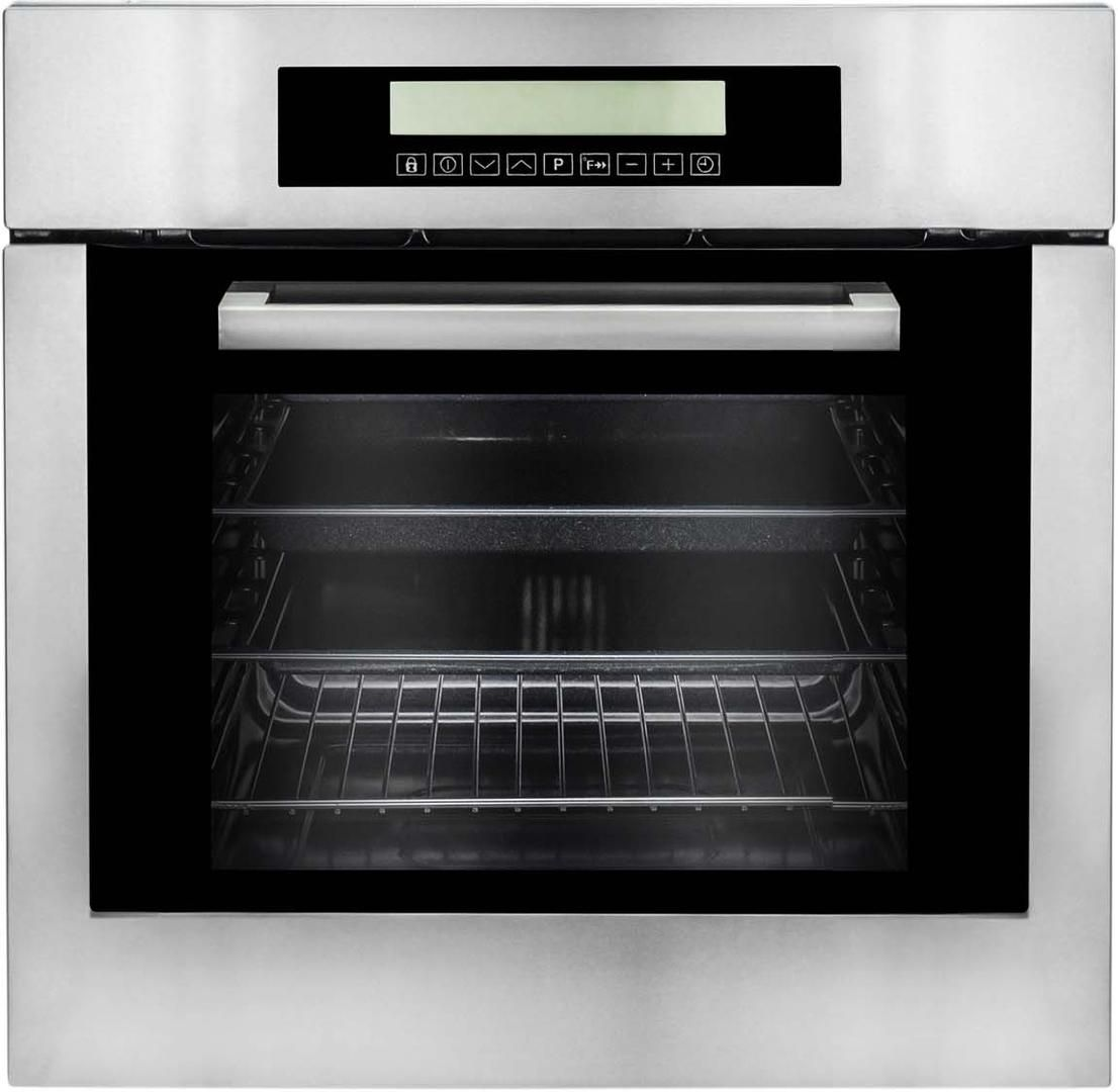 Cosmo C106sixpt 24 Inch Stainless Steel Single Wall Oven Appliances Connection Horno De Pared