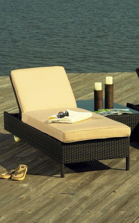Outdoor Wicker Chaise Scene Wicker Paradise Outdoor Wicker