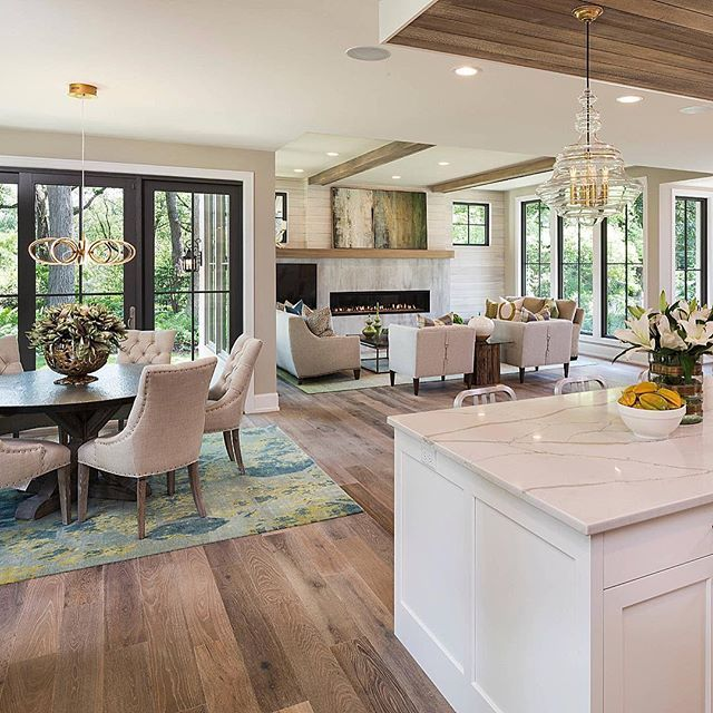 Kitchen Dining Room Open Concept: Throwing It Back To One Of My Favorite Open Concepts! By Builders Association Of The Twin Cities