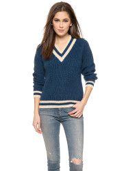Ganni Ballet Sweater - Dress Blues - Lyst