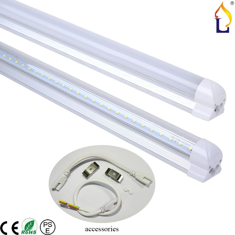 8ft led tube light fixture httpscartclub pinterest led 8ft led tube light fixture arubaitofo Gallery