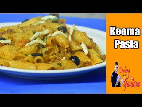 Keema pasta vegetarian recipe non vegetarian recipe cooking keema pasta vegetarian recipe non vegetarian recipe cooking with gautam forumfinder Images