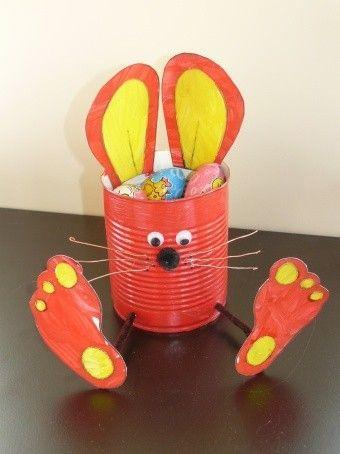 Turbo Lapin de Pâques en boite de conserve | pâques | Pinterest | Lapin  JM09
