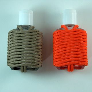 Paracord Germ Grenade Paracord Projects Hand Sanitizer Holder