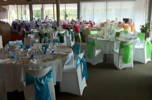 D coration table rainbow wedding mariage multicolore mariage arc et mariage arc en ciel - Deco table multicolore ...