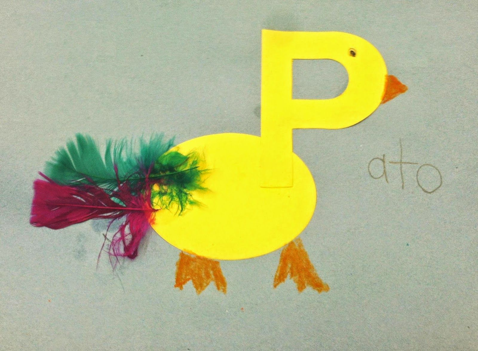 P is for Pato (duck)