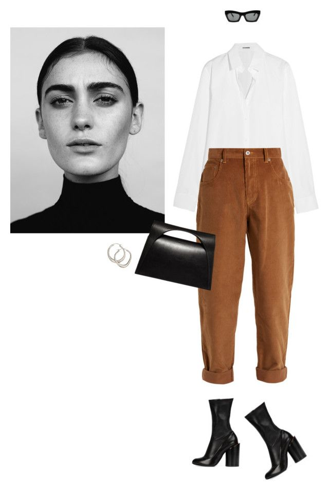 """""""Amore"""" by llbo ❤ liked on Polyvore featuring Jil Sander, Givenchy, Miu Miu, CÉLINE, J.W. Anderson and Dinny Hall"""