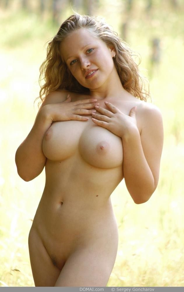 Oval shaped boobs naked