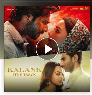 Listen To The Latest Title Track Of Kalank A Movie Starring Alia Bhatt Varun Dhawan Sonakshi Sinha And Aditya Roy Kapur Only On Songs All Songs Varun Dhawan