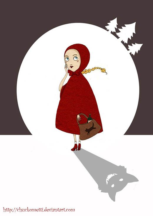 Love This Illustration Red Riding Hood Art Red Riding Hood Little Red Riding Hood