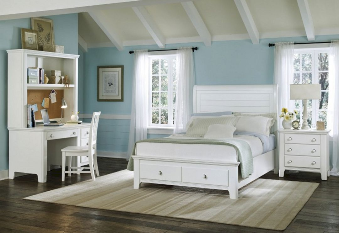 Country Beach Style Bedroom Decor Idea Room The Best 40