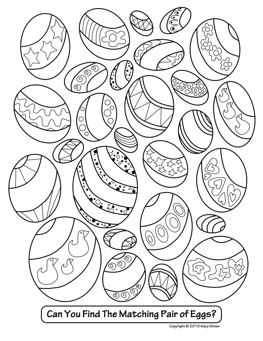 Easter activity coloring pages mary straw activity coloring pages