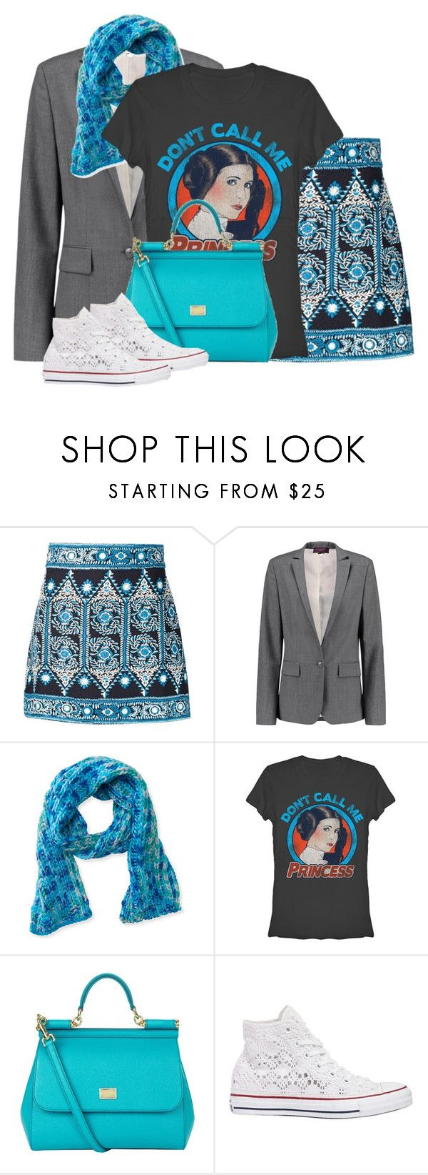 """""""Your worshipfulness"""" by bella8 ❤ liked on Polyvore featuring Sea, New York, STELLA McCARTNEY, Aéropostale, Dolce&Gabbana and Converse"""