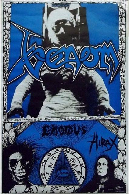 Venom, Exodus, Hirax