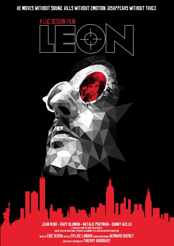 Leon by Suzanne Waters - Home of the Alternative Movie Poster -AMP-