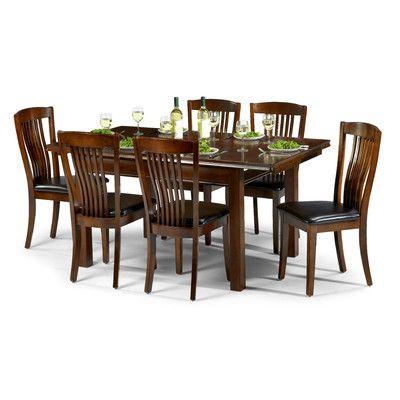 Remsen Extendable Dining Set With 6 Chairs In 2020 Dining Table