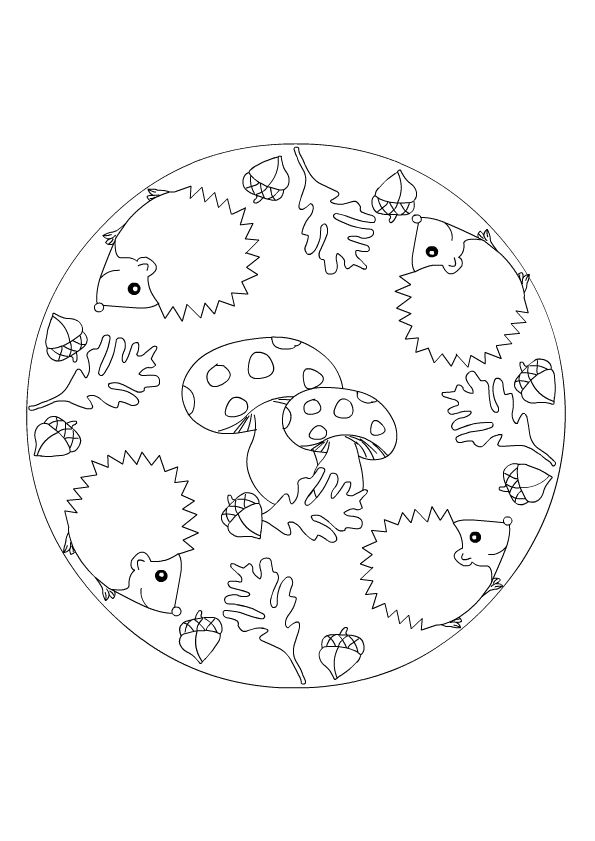warnio05 herfst kleurplaat mandala