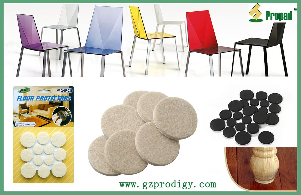 Furniture Floor Protector Pads , Put Or Stick Under The Feet Of Furniture  Or Appliances To