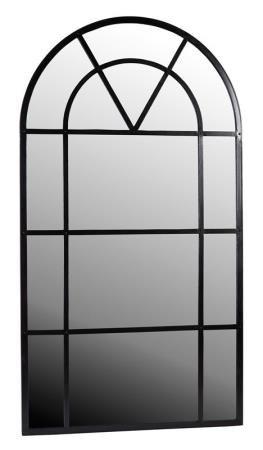 Meuble miroir m tal arrondi mobilier miroirs signature le bouche l 39 oreille pinterest for Miroir arrondi