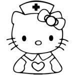 Stickerbus Com Hello Kitty Nurse Decal 6 96 Http Www Stickerbus Com Hello Kitty Nurse Decal Hello Kitty Kitty Nurse Decals