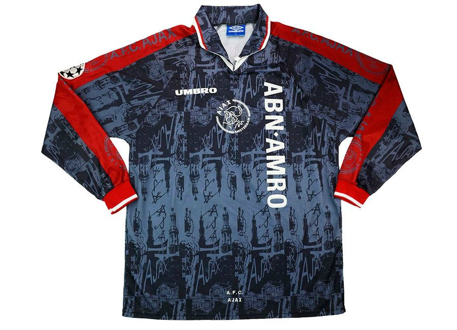 Umbro 1996-97 Ajax Match Issue Champions League Away Shirt  511dba507