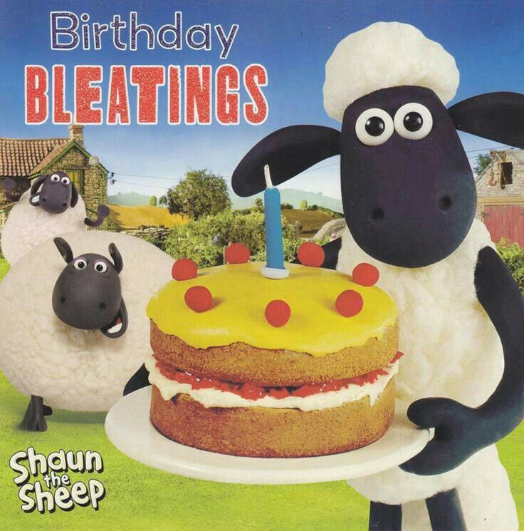 Shaun The Sheep Birthday Card Birthday Wishes Birthday