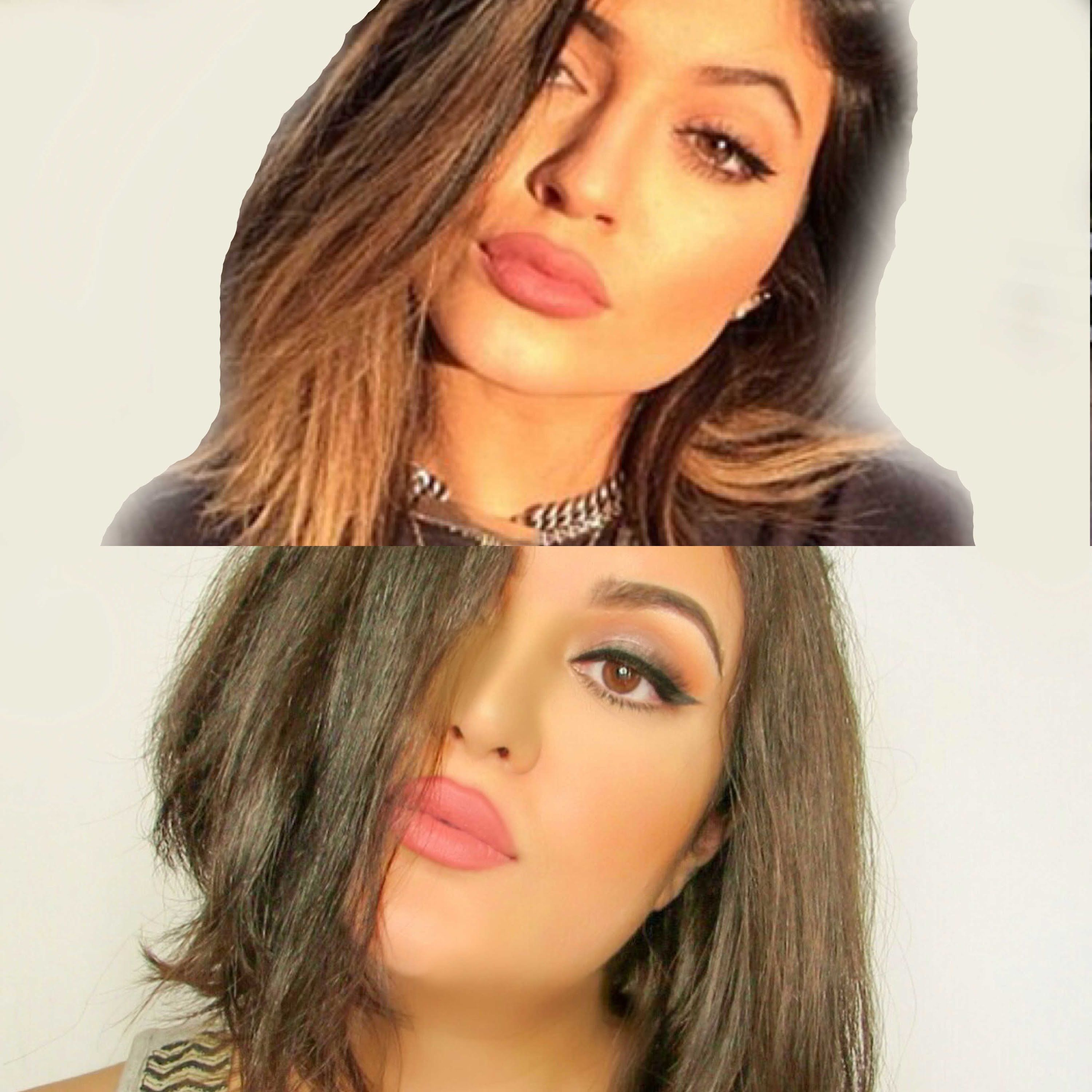Kylie Jenner Inspired Makeup look (With images) | Kylie ...