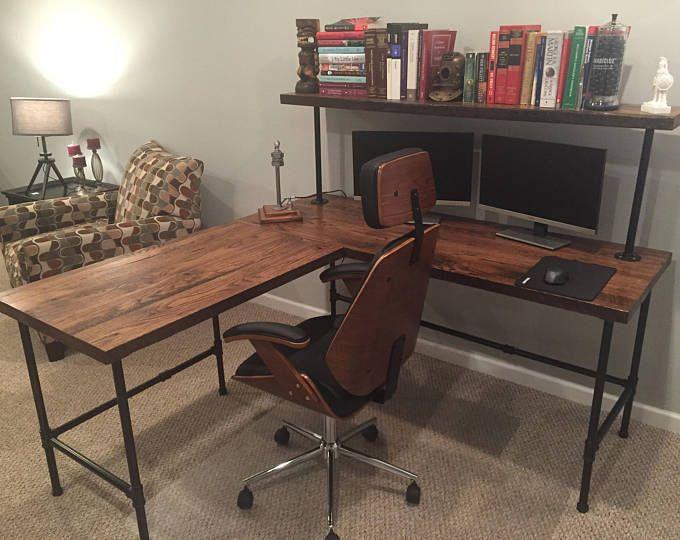 finest selection 0414d 3248a Computer Desk, Reclaimed Wood Desk, Office Desk, Table ...