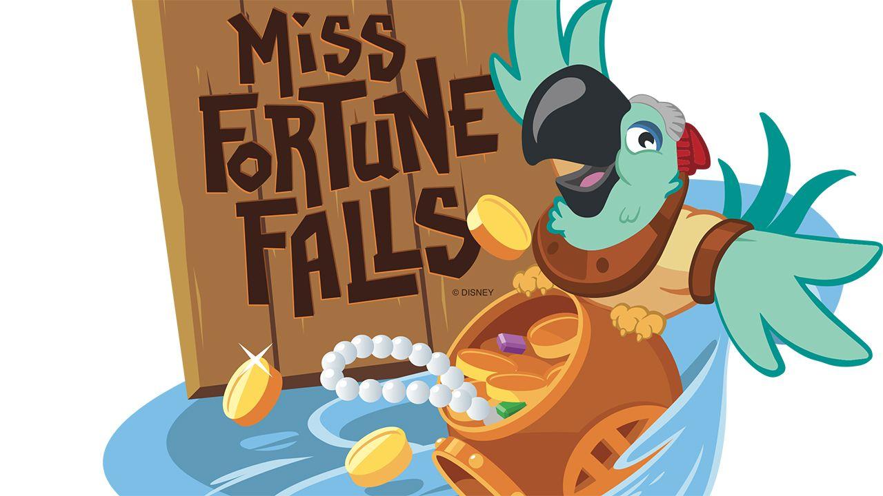 Miss Fortune Falls at Disney's Typhoon Lagoon