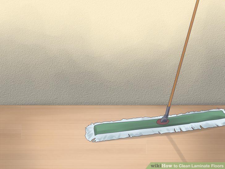 Image titled Clean Laminate Floors Step 1