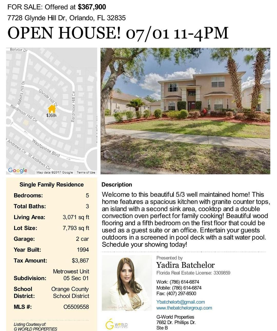 Awesome Orlando Fl Houses For Rent Apartments: Open House Invitation!! Saturday 07/01 Doors Open From 11