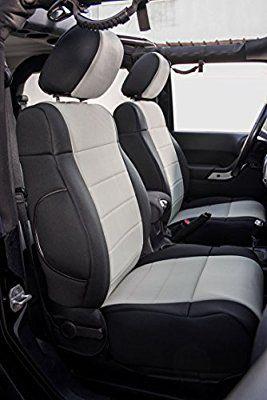 Homeyone Tailor Made Neoprene Seat Covers Set Fit 2011 To 2012 Jeep Wrangler Jk 2 Door Black Medium G 2012 Jeep Wrangler Jeep Wrangler Jk Neoprene Seat Covers