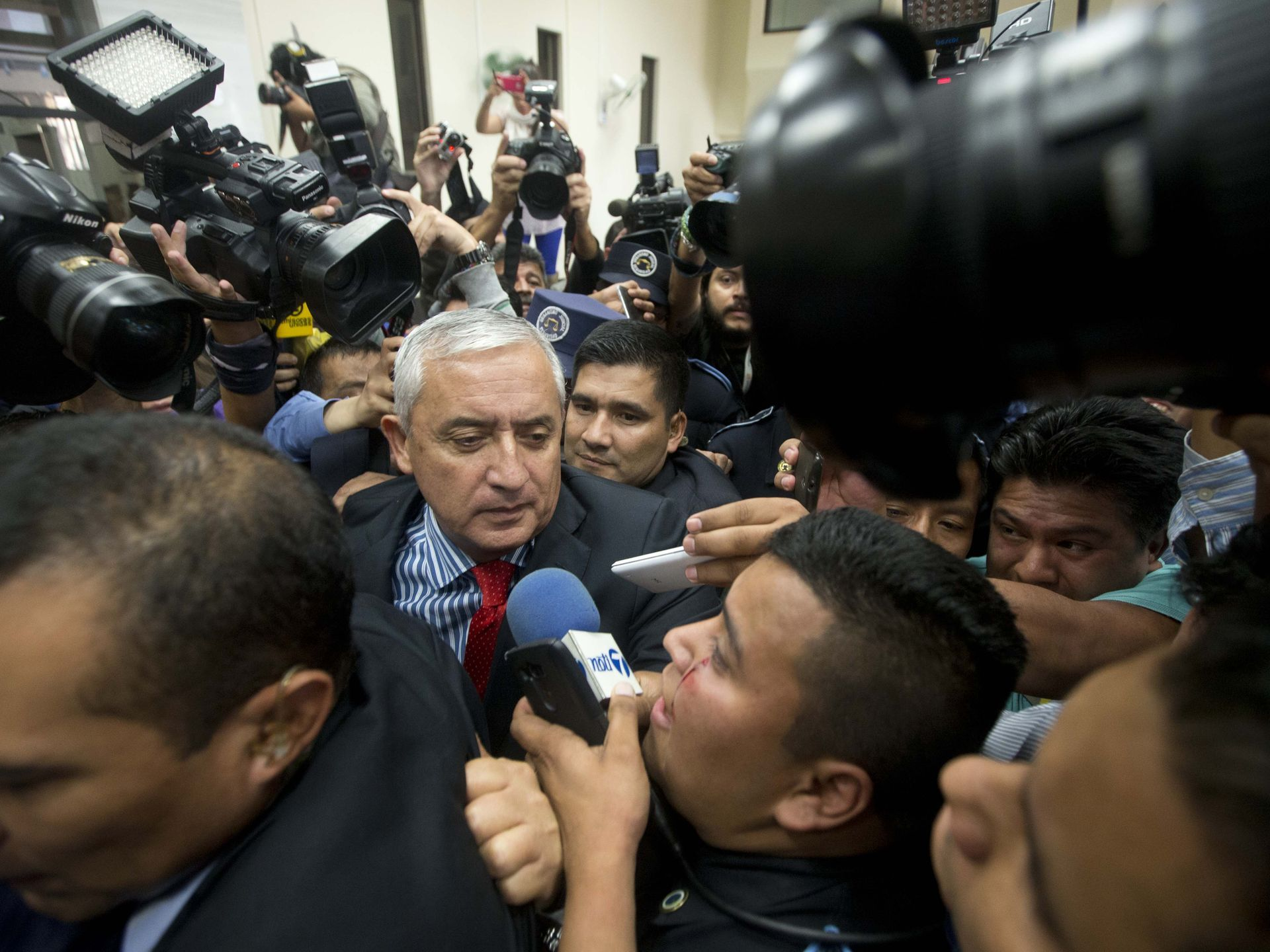 the world s catalog of ideas n president otto perez molina arrives at court to face corruption charges after submitting his resignation