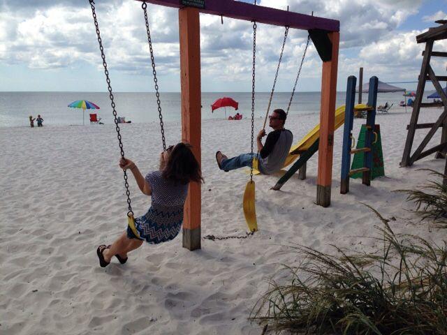 Beach Playground At Toucans Restaurant In Mexico Near Cape San Blas Florida