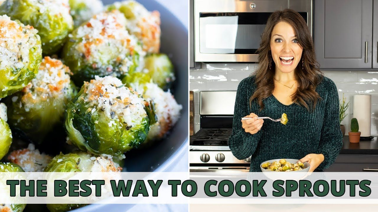 How to Make Smashed Brussels Sprouts with Parmesan Cheese #smashedbrusselsprouts How to Make Smashed Brussels Sprouts with Parmesan Cheese - YouTube #smashedbrusselsprouts