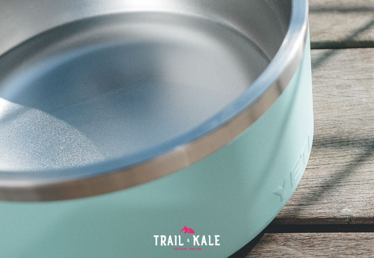 YETI Boomer Dog Bowl Review trail dogs trail and kale wm 7