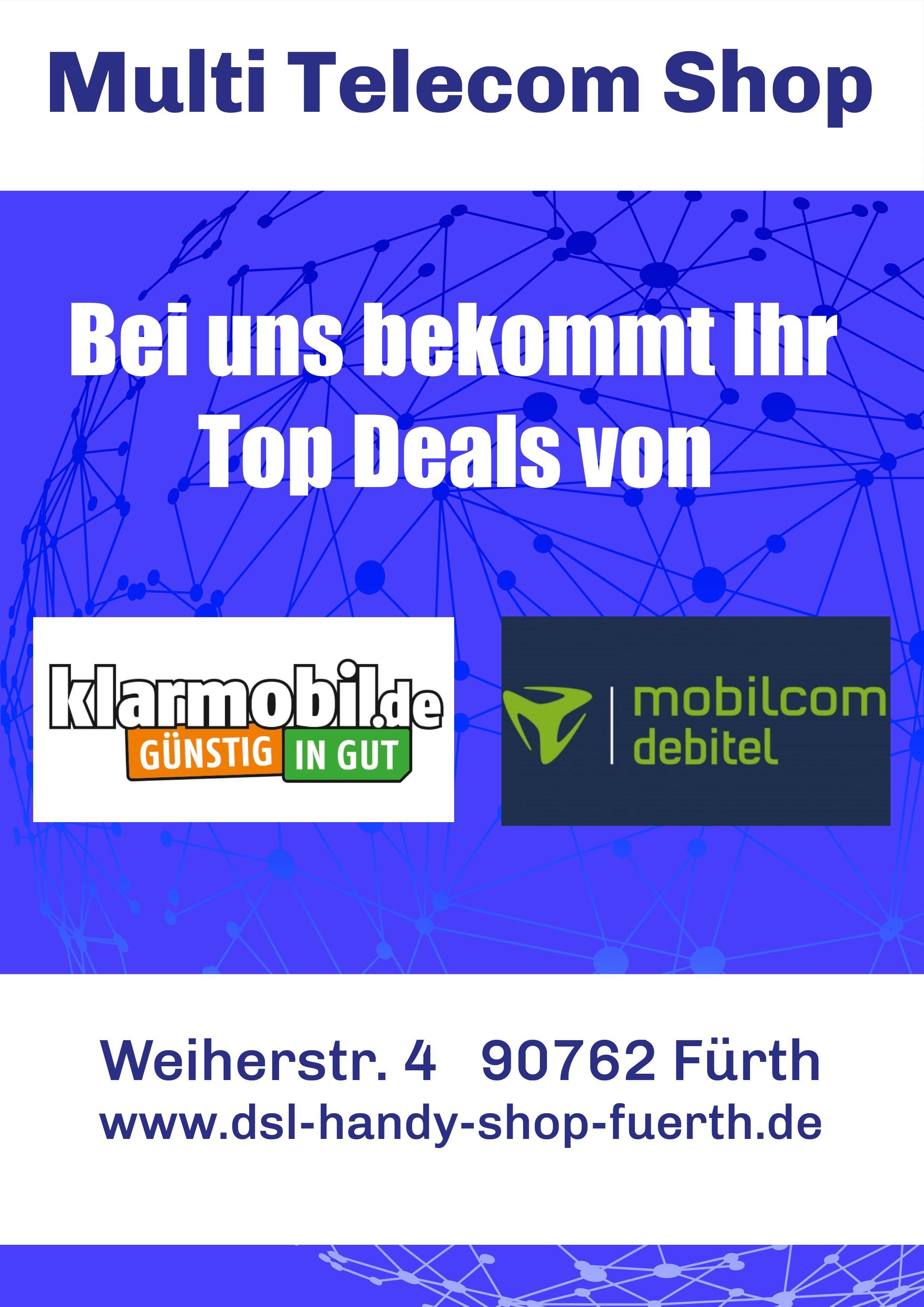 Mobilcom Debitel Und Klarmobil Partner Furth Weiherstr 4 In 2020 Handy Shop Handyvertrag Handy