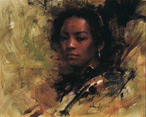 Richard Schmid - Black Girl