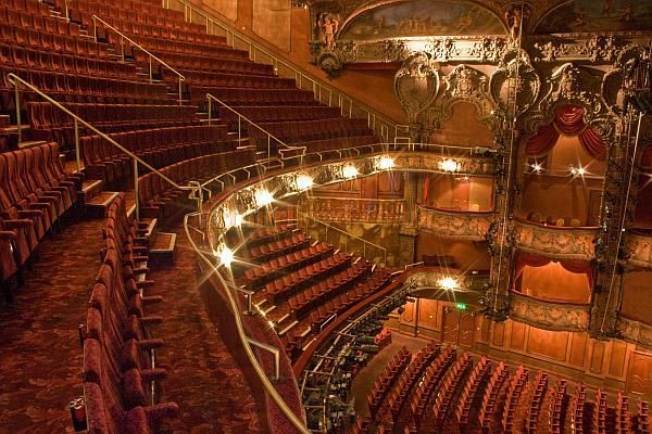 The Lyceum Theatre Auditorium Seating In Is Split Over Three Levels Stalls Royal Circle And Upper