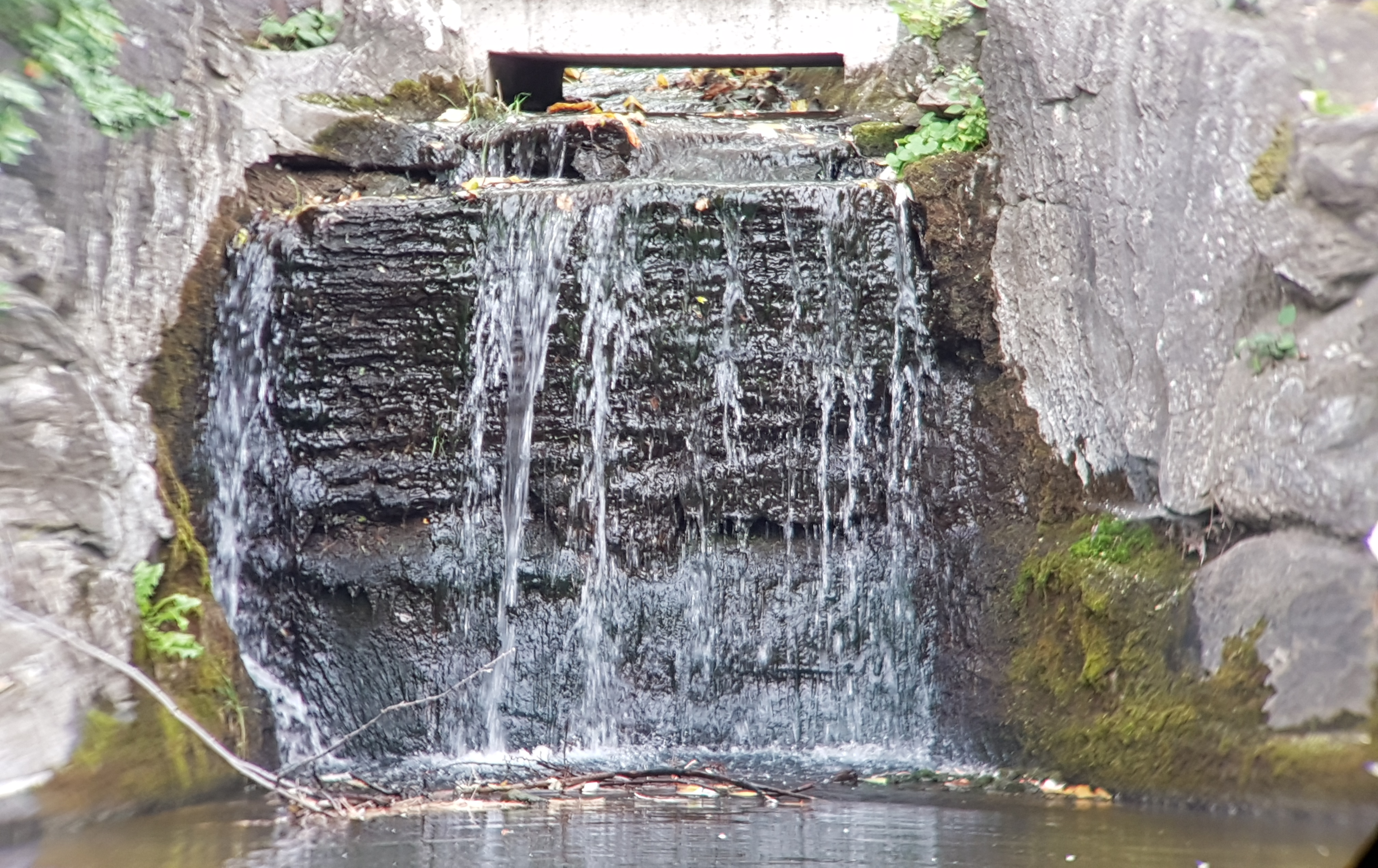 Beautiful waterfall at the park sight taken with our