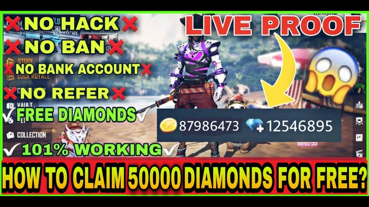 Facebook Free Fire Diamond In 2020 Diamond Free Hacks Free