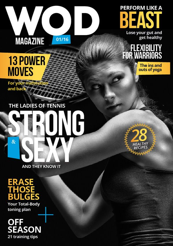 Strong magazine cover design tutorial
