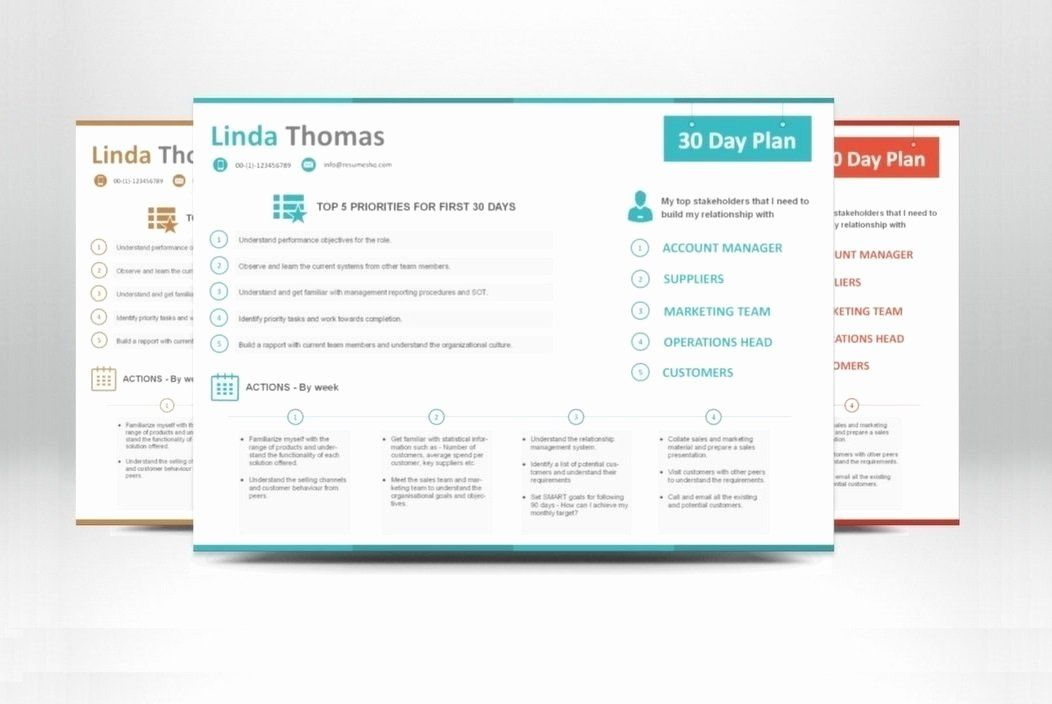 40 30 60 90 Plan Templates 90 day plan, How to plan, Day
