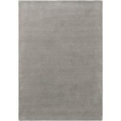 Photo of benuta Wollteppich Bent Plain Grau 200×300 cm – Naturfaserteppich aus Wolle benuta