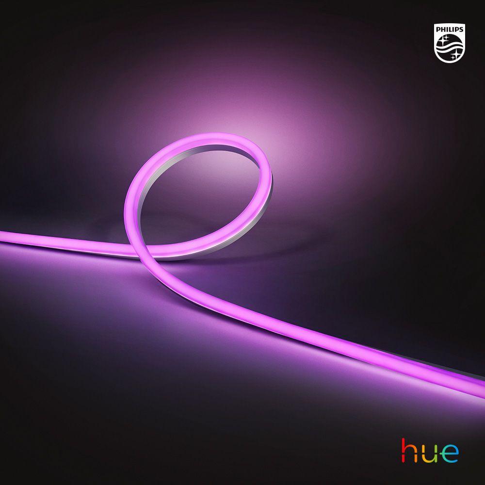 Smart Outdoor Light Strip Philips Hue Flexible Led Strip Lights Installing Led Strip Lights Led Strip Lighting